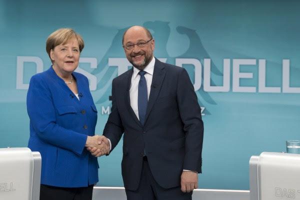 Τελευταία ευκαιρία για να σχηματίσουν κυβέρνηση Μέρκελ - Σουλτς