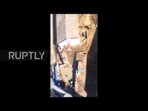 Russia: Vast sinkhole causes major bridge collapse in Vladivostok  Hqdefault