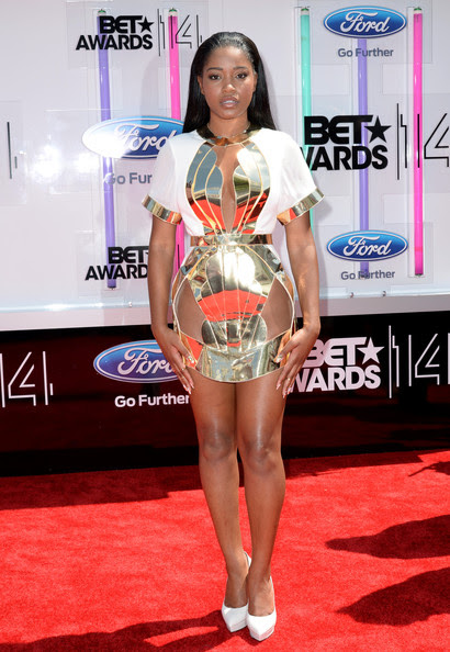 Actress Keke Palmer attends the BET AWARDS '14 at Nokia Theatre L.A. LIVE on June 29, 2014 in Los Angeles, California.