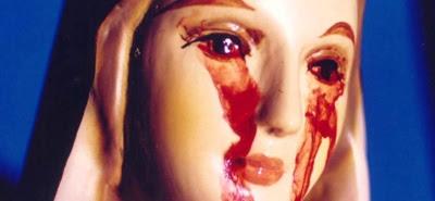 Cudowna Figura Matki Bożej z Naju płakała krwawymi łzami. Maryja płacze nad światem biegnącym ku własnej zgubie