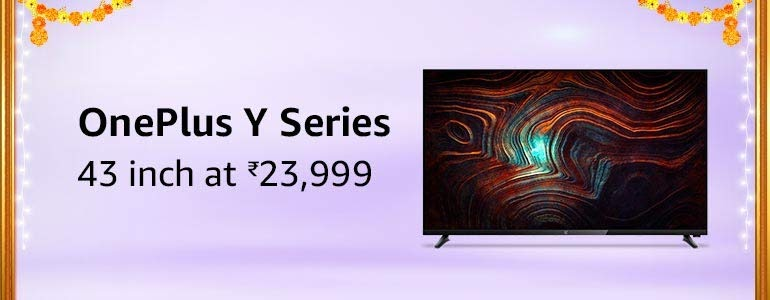 oneplus tv Offers & Deals Amazon India