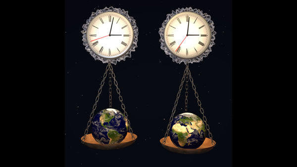 Time and gravity