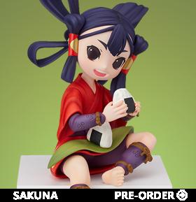 Sakuna: Of Rice and Ruin Sakuna Premium Perching Figure