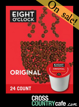 Eight O`Clock Coffee Original Roast Keurig Kcup Coffee