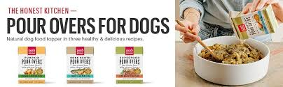 Honest Kitchen Dog Food Pour Overs