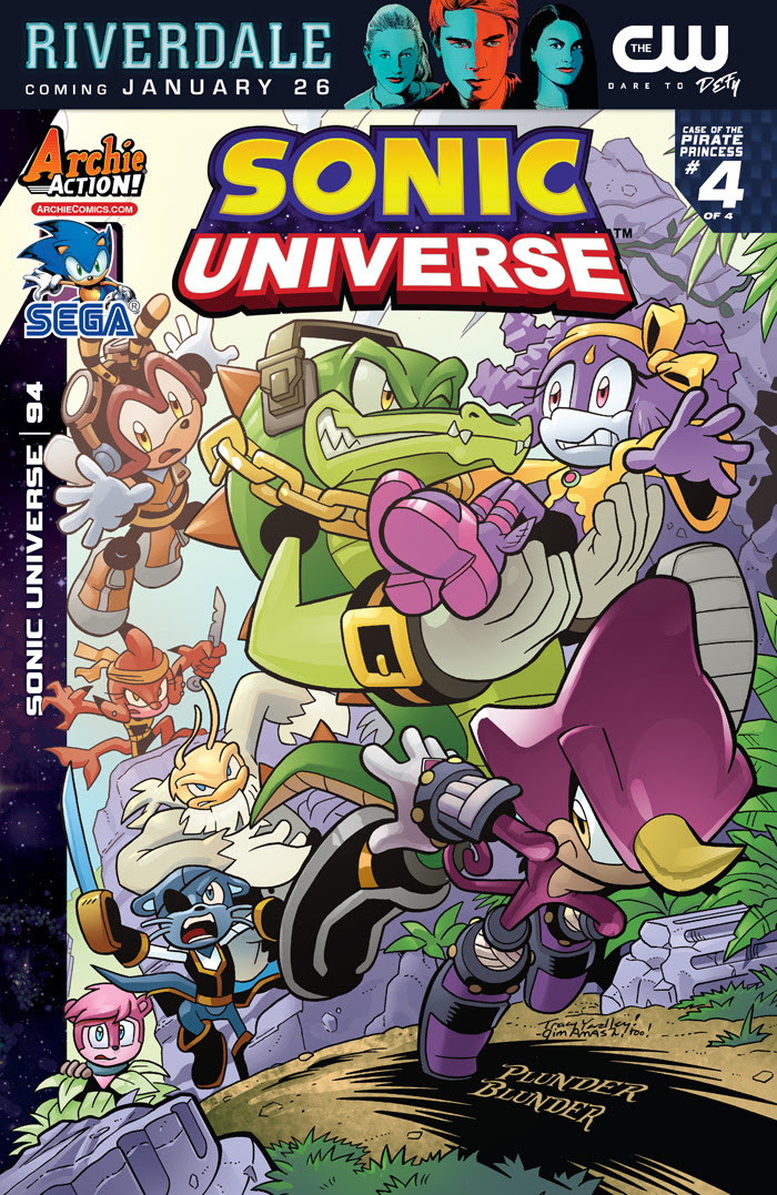 Sonic Universe #94 Cover