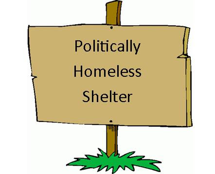 Politically Homeless Shelter
