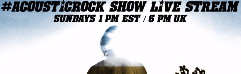 Acoustic Rock Show Live Stream TODAY on Facebook.