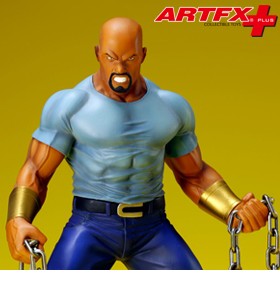 THE DEFENDERS ARTFX+ LUKE CAGE STATUE