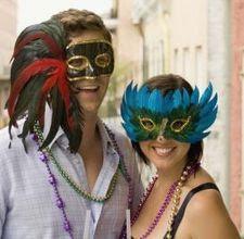 DIY- mardi gras masks for all!