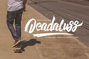 Deadaluss Handmade Font ( 30% off! )