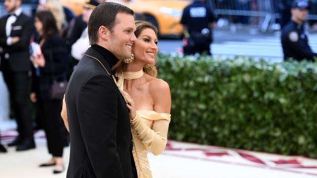 Tom Brady se declara a Gisele Bündchen em dia especial