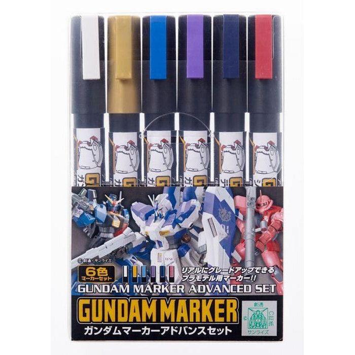 Image of GMS124 Gundam Marker Advanced Set
