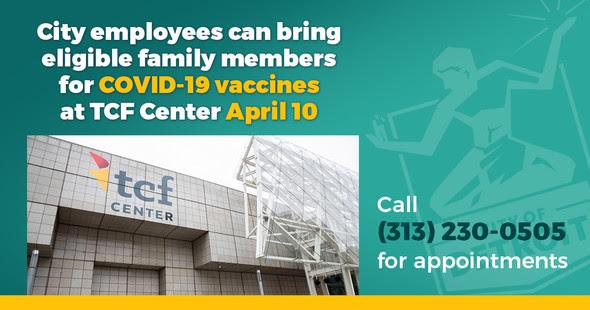 City of Detroit Family Days TCF Center 3.31.21