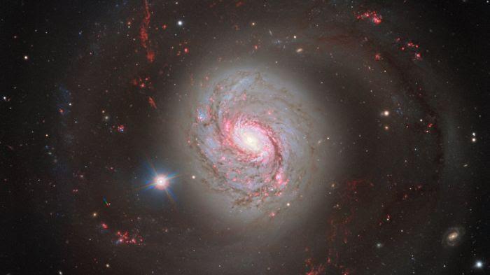 Messier 77 ESO/VLT juillet 2017
