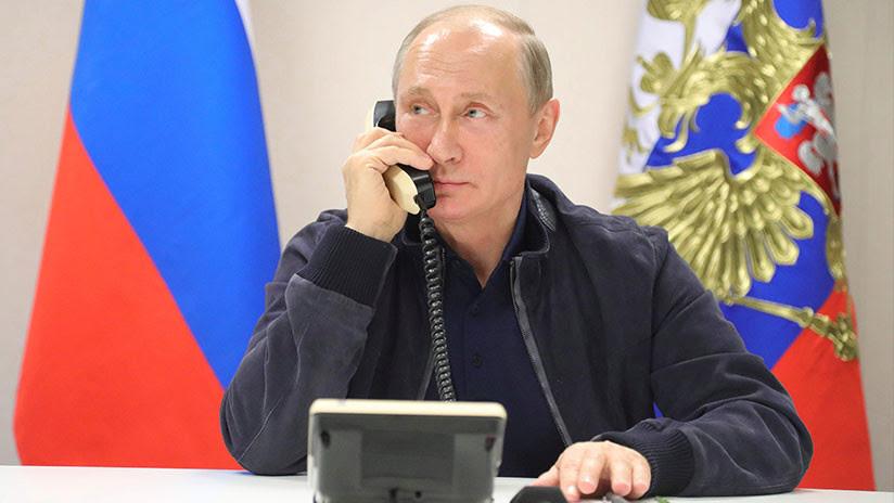 Llamar a Putin: ¿Cómo funcionan las comunicaciones telefónicas entre jefes de Estado?