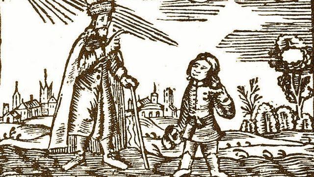 Primera ilustración del 'Orbis Sensualium Pictus'