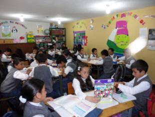 A classroom using Escuela Activa Urbana