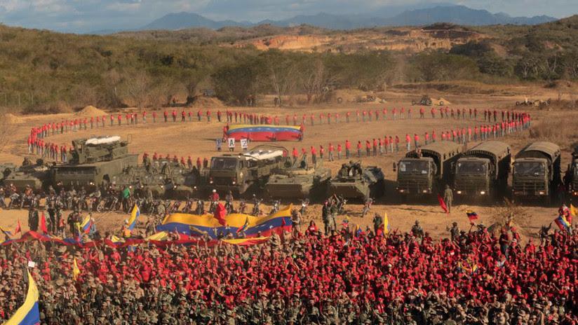 Arrancan los ejercicios militares