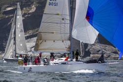 J/109 winning offshore Irish Championship