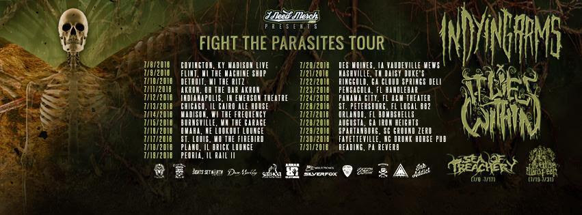 Fight The Parasites Tour dates