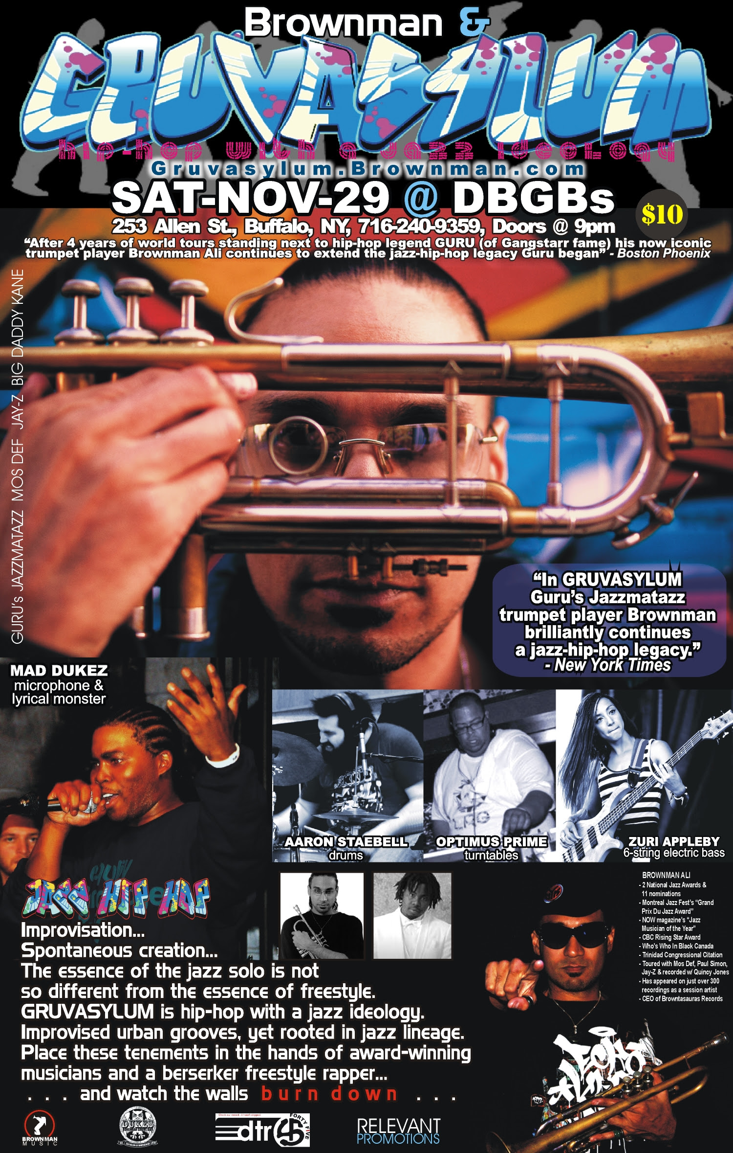 MILES DAVIS : ERAS - poster
