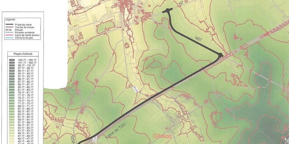 Enquête publique pour la route d'accès au nord du parc Pairi Daiza: appel à réclamations
