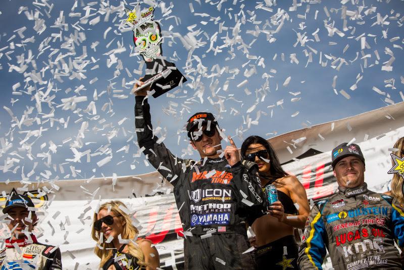 Brock Heger, Estero Beach, Maxxis Tires, Icon Dynamics, Method Race Wheels, Yamaha