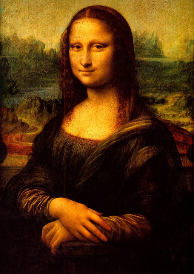 Tuyệt phẩm 'Mona Lisa' của đại danh họa toàn năng Leonardo da Vinci (vẽ từ năm 1503–1506).
