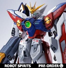 Gundam Metal Robot Spirits Side MS Wing Gundam Zero