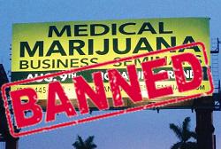 Marijuana Advertisement Ban