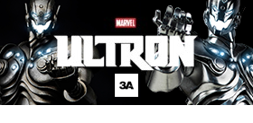 THREEA 1/6 SCALE ULTRON CLASSIC AND SHADOW