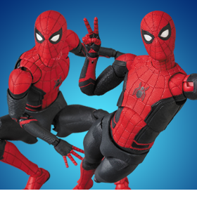 Spider-Man: Far From Home MAFEX No.113 Spider-Man (Upgraded Suit)