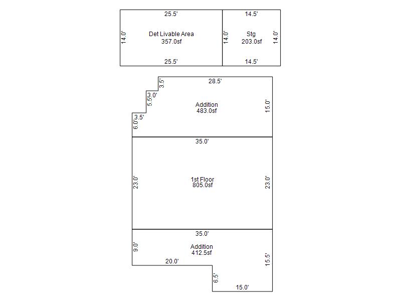 2233 E Sheridan St Phoenix, AZ 85006 floor plan wholesale