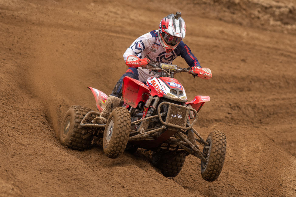 Joel Hetrick went 1-1 earning his fifth overall win of the season at RedBud MX.