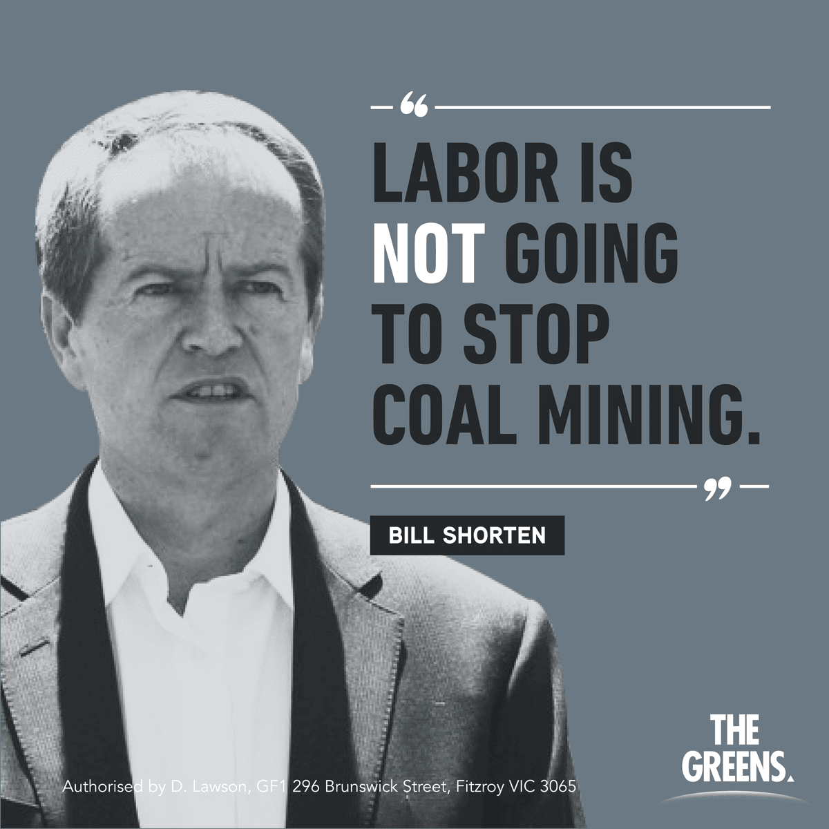 Shorten: Labor is not going to stop coal mining