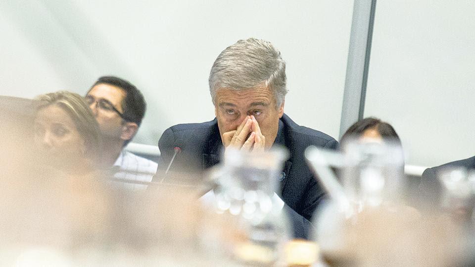 """Aguad """"se tiene que apartar solo o tiene que apartarlo el Presidente"""", consideró Tagliapietra."""