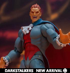 Darkstalkers Demitri Maximoff 1/12 Scale Figure