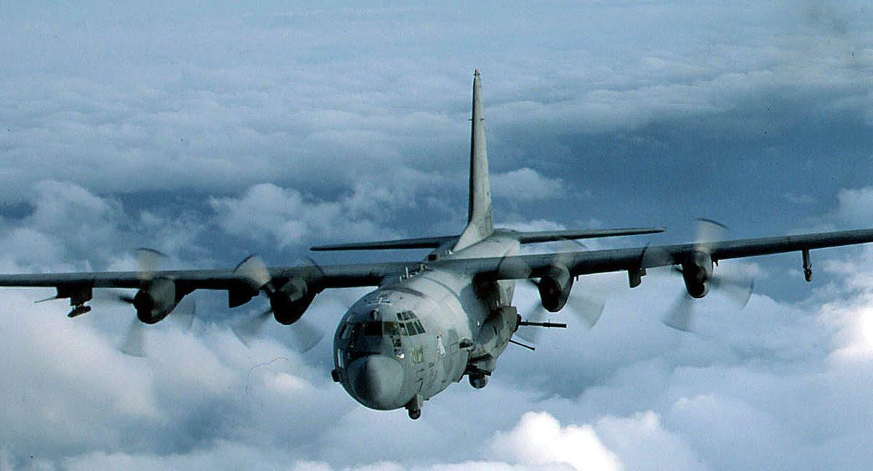 Quayle Alert: Ten C130 Gunships Flyover in GA