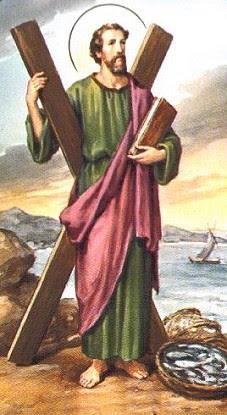 Znalezione obrazy dla zapytania św andrzej apostoł