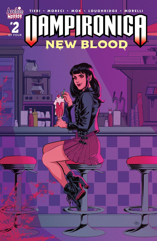 VAMPIRONICA: NEW BLOOD #2: CVR A Mok
