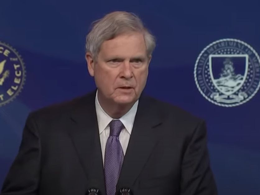 Vilsack after being announced as ag secy pick