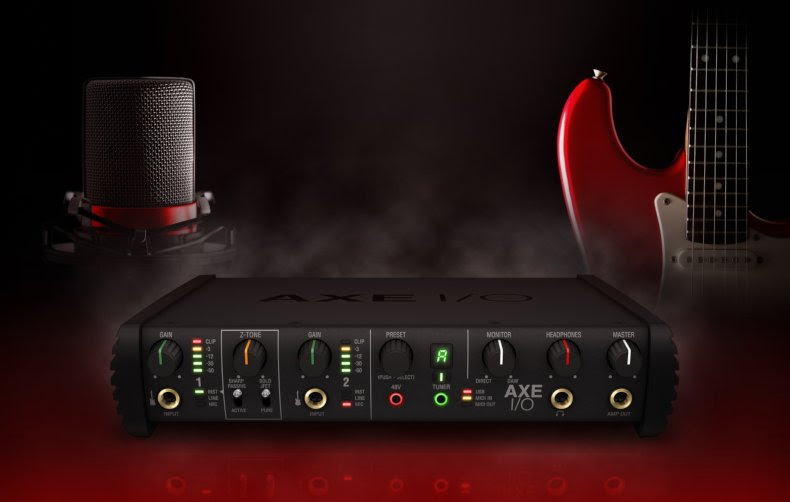 IK Multimedia Unveils AXE I/O - Premium Audio Interface