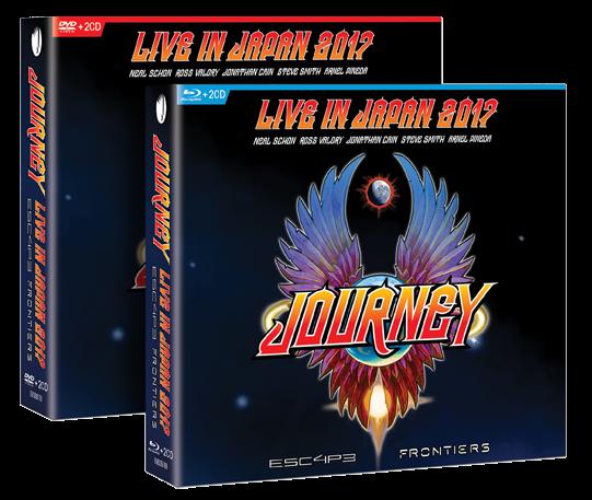 JOURNEY en digipack 2CD+DVD et 2CD+Blu-ray