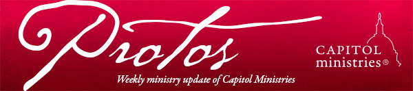 Ministry Updates from Capitol Ministries