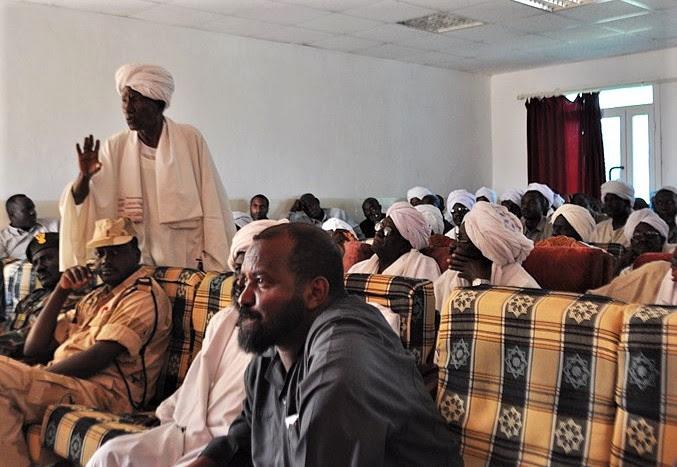 An ethnic Messiria (Misseriya Arab) elder at meeting on status of Abyei administrative area. (Wikipedia, Sudan Envoy)