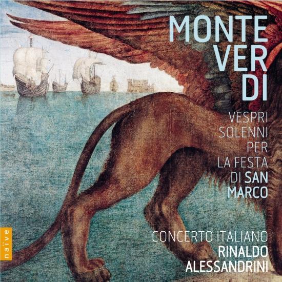 Cover Monteverdi: Vespri Solenni per la Festa di San Marco