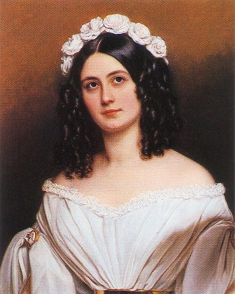 Баронесса Розали Джули Бонар, написано в 1840 году.jpg