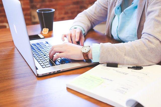 home based freelance worker
