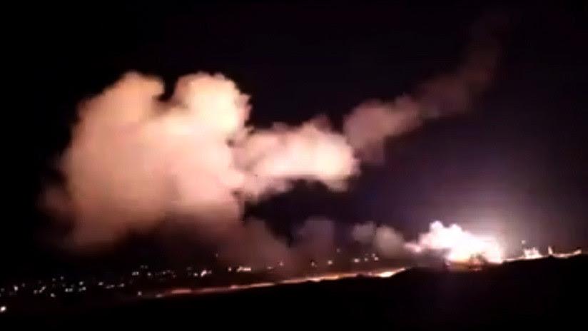 El bombardeo de Israel en Siria se realizó
